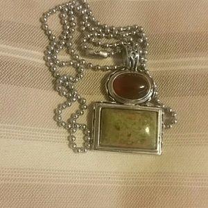 Jewelry - Carnelian & Jasper necklace